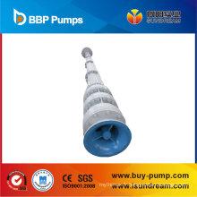 Pompe à arbre long à turbine verticale
