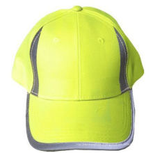 High Visibility Hat with Reflective Panels