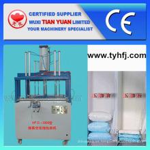 Máquina de envasado de compresa de almohada fibra de poliéster no tejido