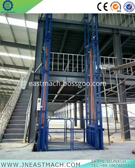 100m Lift Height 630kg Rated Load Suspended Platform Hoist Lifting Equipment For Sale