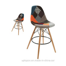 Colourfui Fashion Rotating Fabric High Bar Stool (SP-HBC429)