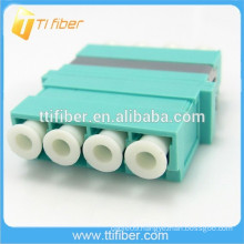 Quad LC Optical Fiber Adapter