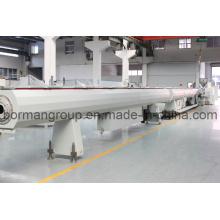 Linha de produção de tubo HDPE