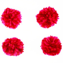 Craft accessory yarn pompom ball