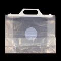 Environmental Transparent Plastic Handle Bags