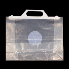 Environmental Transparent Plastic Handle Bags