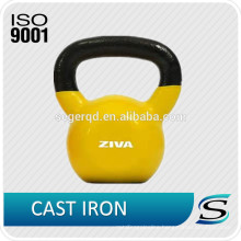 China custom cast iron kettlebell for wholesale