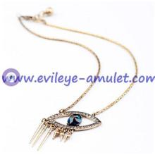 Evil Eye Pendant Charm Necklace