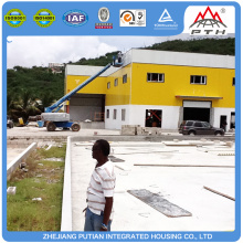 Best selling commercial customized prefab factory building