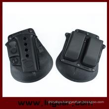 Military Glock 17/19 Pistol Holster Magazine Pouch Holster for Sale