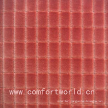 100% Polyester Embossed Cut Velvet Fabric
