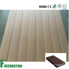 Teack Wood Co-Extrusion WPC Decking -Wood Texture Flooring
