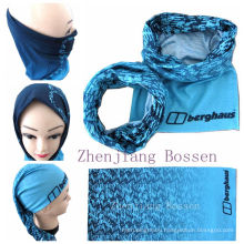Promotional Microfiber Custom Snow Seamless Outdoor Sports Headband Headscarf
