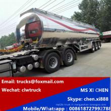 Remorque de Transport 3 essieux Shinning huile inox