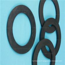 Rondelle adossée par adhésif de bande de caoutchouc de silicone 3m