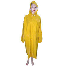 Ladies Yellow PVC Raincoat