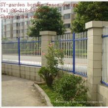 Conception de clôture de jardin