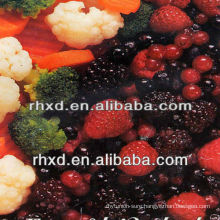 frozen fruits and vegetables IQF