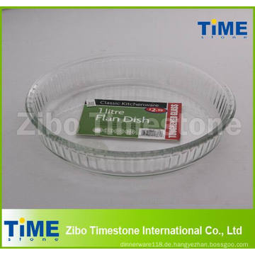 1 Liter Pyrex Round Mikrowelle Safe Kuchenform