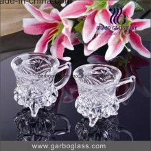 3oz vidro de chá turco com estilo árabe