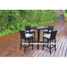 Мебель для улицы - Барный стул - Барный стол и стул (BG-N010)