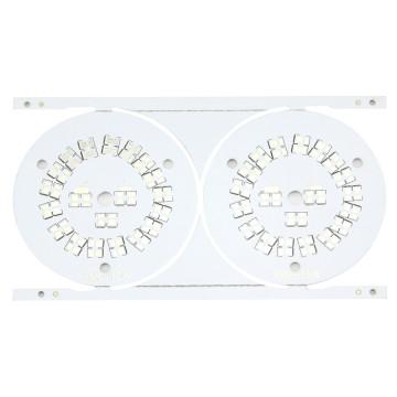 Placa de circuito de alumínio 1.0W para luz LED