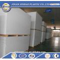 materiales de construcción de PVC ligero lámina de plástico flexible