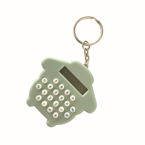 8 Digits Mini Keychain Cute Key Ring Calculator