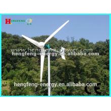 bajas revoluciones imán permanente viento turbina 2kw