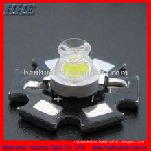 3w blanco de alta potencia led con pcb