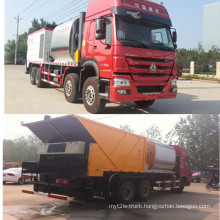 Asphalt Crushed Stone Synchronous Seal Truck
