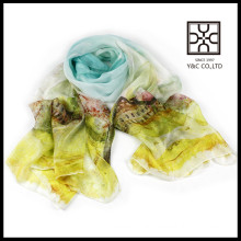 hot selling digital print custom design chinese silk scarf