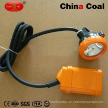China Bergbau-Sicherheits-Kappen-Lampe der Kohle-Kj3.5lm hohe Leistung LED