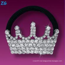 Elegantes volles französisches französisches Haarband, Damekristallhaarband, Schmucksachekronenhaarband