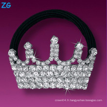 Bande de cheveux en cristal pleine et élégante, bande de cheveux en cristal de dames, bande de cheveux couronne de bijoux