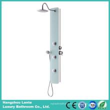 Panel de ducha de diseño de moda con ducha superior (LT-B734)