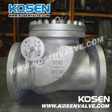 API 6D Full Open Swing Check Valve with Counter Weight