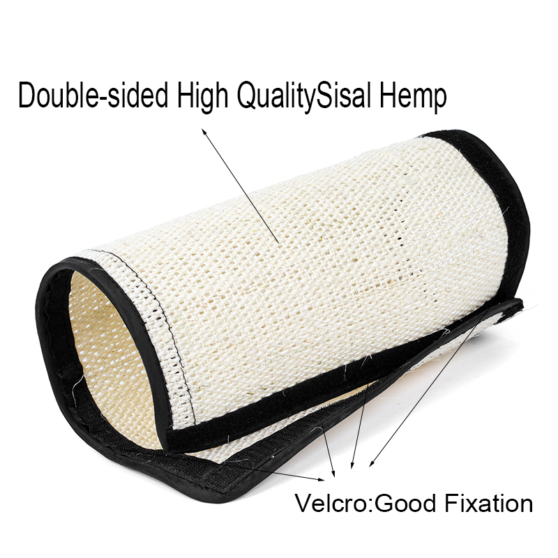 Natural Sisal Hemp Cat Scratching Post Protecting Furniture Grinding Claws Cat Scratcher Toy Multifunctional Furniture Protector 2
