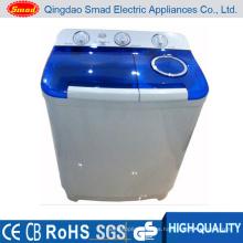 Capacidad 9kg Semi Automatic Twin Tub Lavadora de tela Lavadora