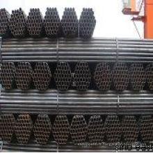"""Tubulure en acier soudé au carbone BS1387 de 1/2 """"-46"""""""