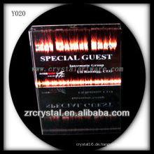 Bunter Druck Foto Kristall Y020