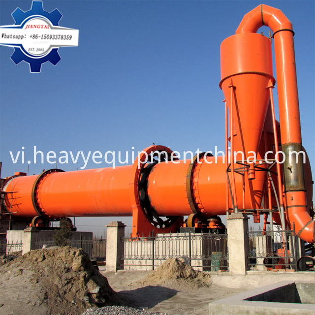 Mobile rotary dryer for sale
