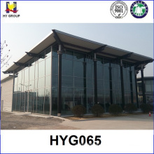 Prefabricated hotel metal steel building