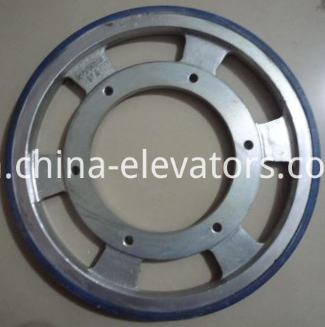 Handrail Driving Wheel OTIS Escalators 456*218*36 OEM Part#DAA261NNN1
