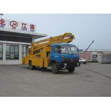 Dongfeng 24m raised extendable steel work platform vehicle