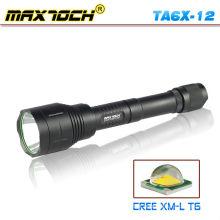 Lanterna de LED CREE Maxtoch TA6X-12 T6 acampar 18650