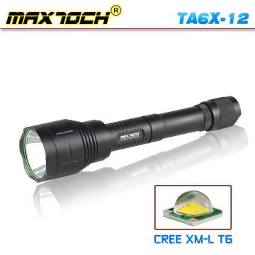Maxtoch TA6X-12 CREE T6 18650 Camping LED Torch