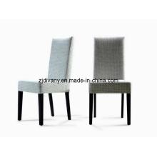 Estilo moderno de madeira tecido estar jantando a cadeira (C16)