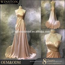 Guangzhou Fournisseur de robes de demoiselle d'honneur avant et arrière