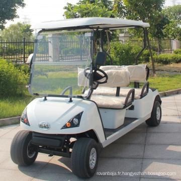 Buggy électrique de golf de passager de 4 passagers (DG-C4)